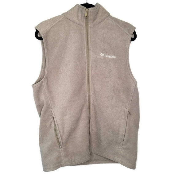 cheap for discount many fashionable classic style Columbia Jackets & Coats | Brown Sleeveless Fleece Vest Mens M ...